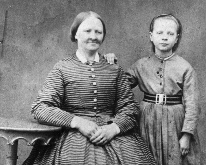 Amalia Eriksson- Polkagrisens moder